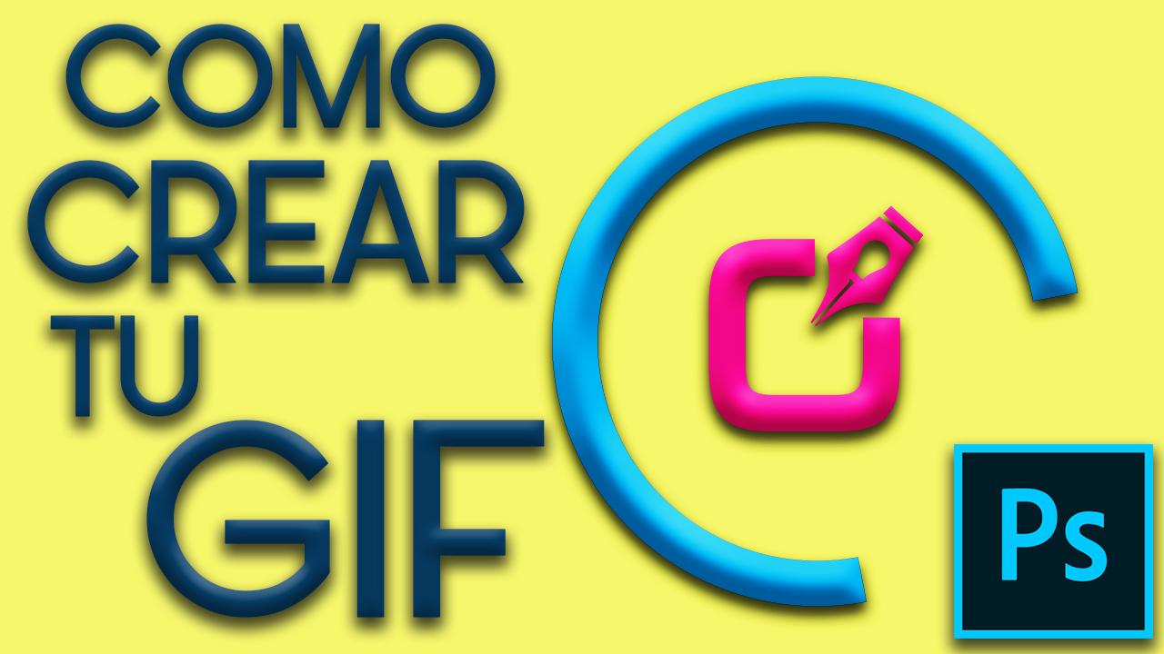 TUTORIAL PHOTOSHOP CS6, Como hacer un archivo Gif Animado en logo 1