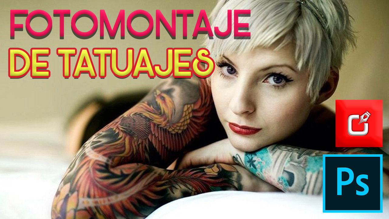 PHOTOSHOP TUTORIAL | EFECTO TATUAJES