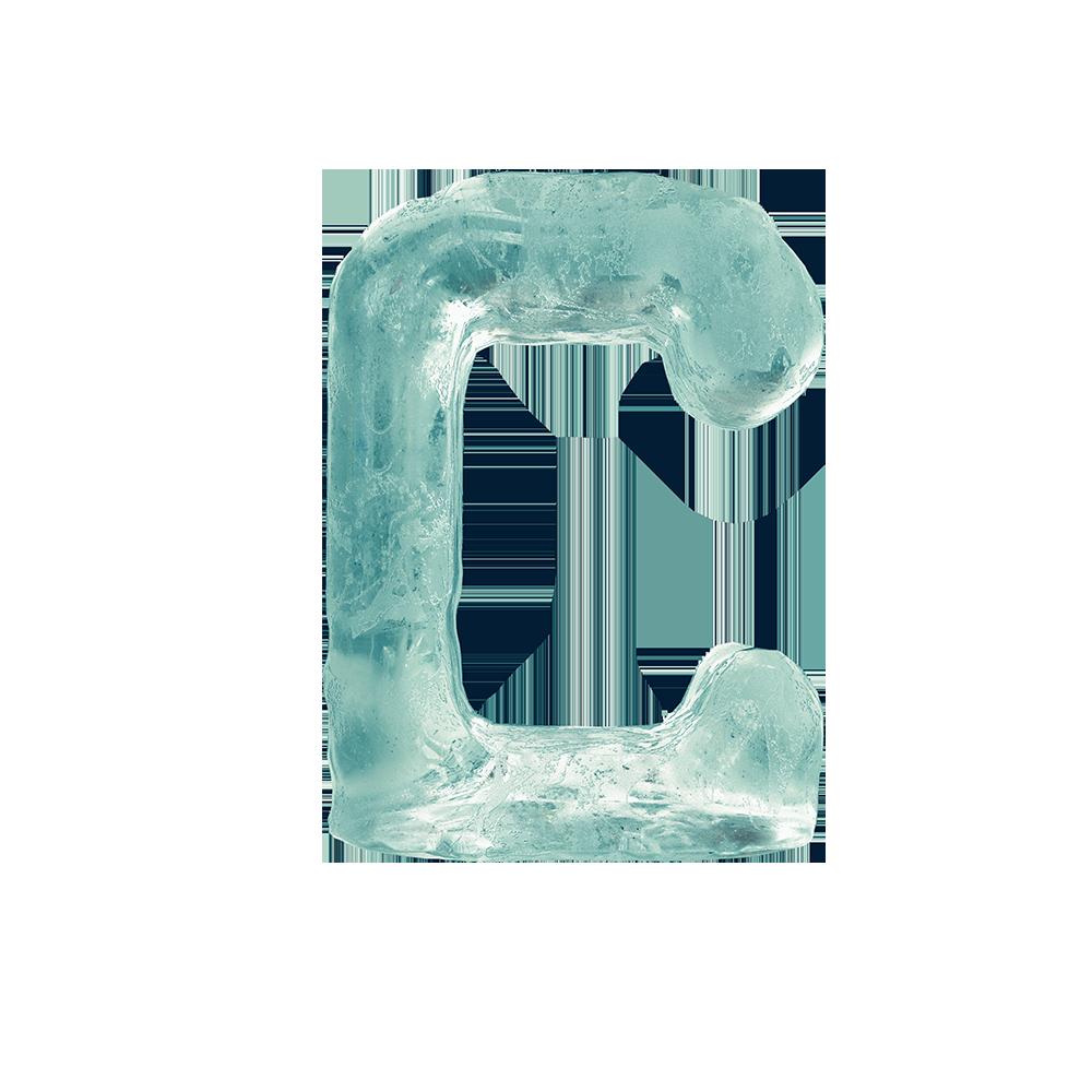 letras de hielo en png | texto congelado | letras 3d en hielo