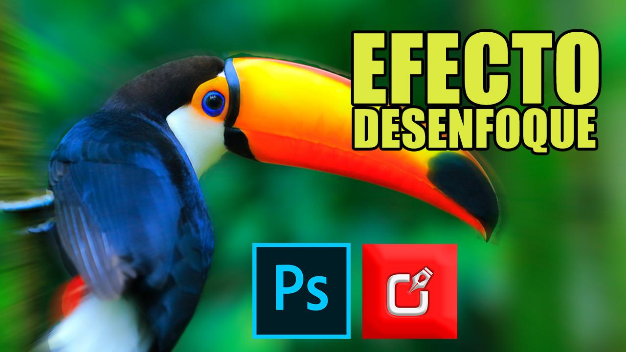 como hacer efecto de desenfoque selectivo en photoshop