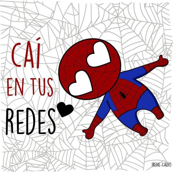 frase spiderman diseños creativos