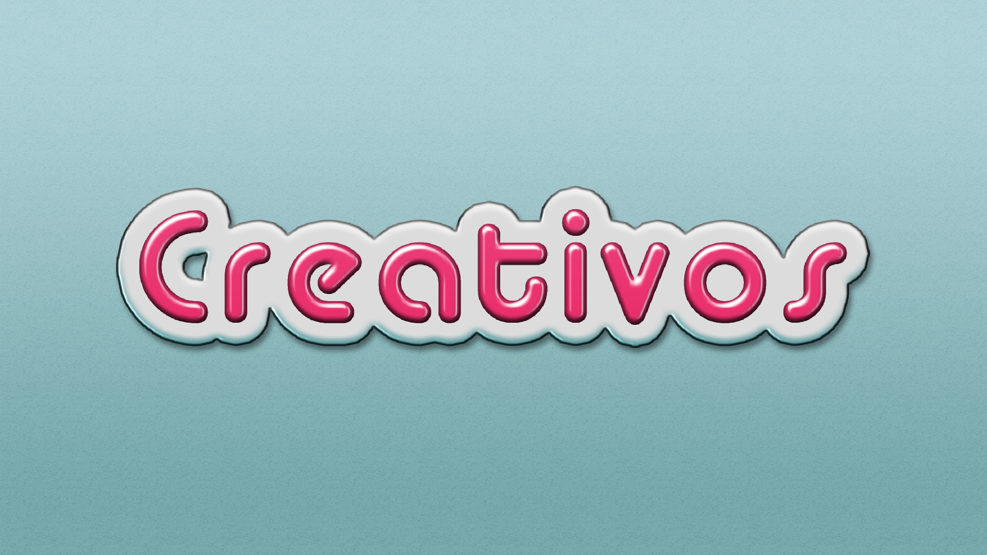 efecto de texto 3d candy photoshop