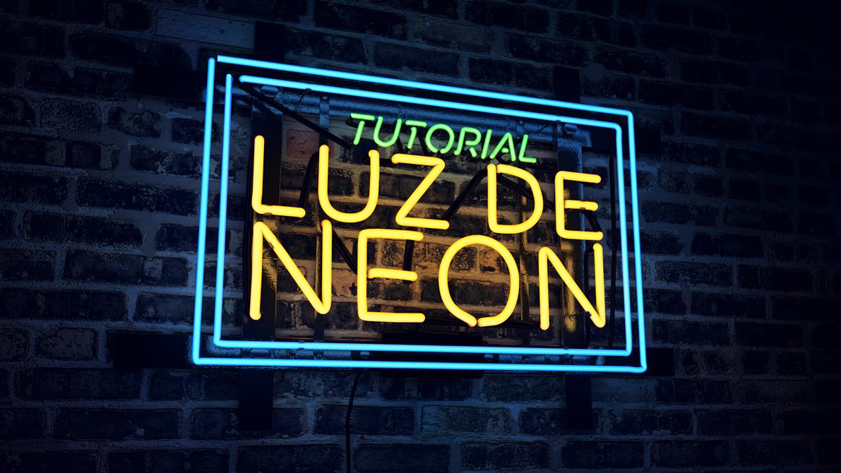 como hacer efecto neon en photoshop