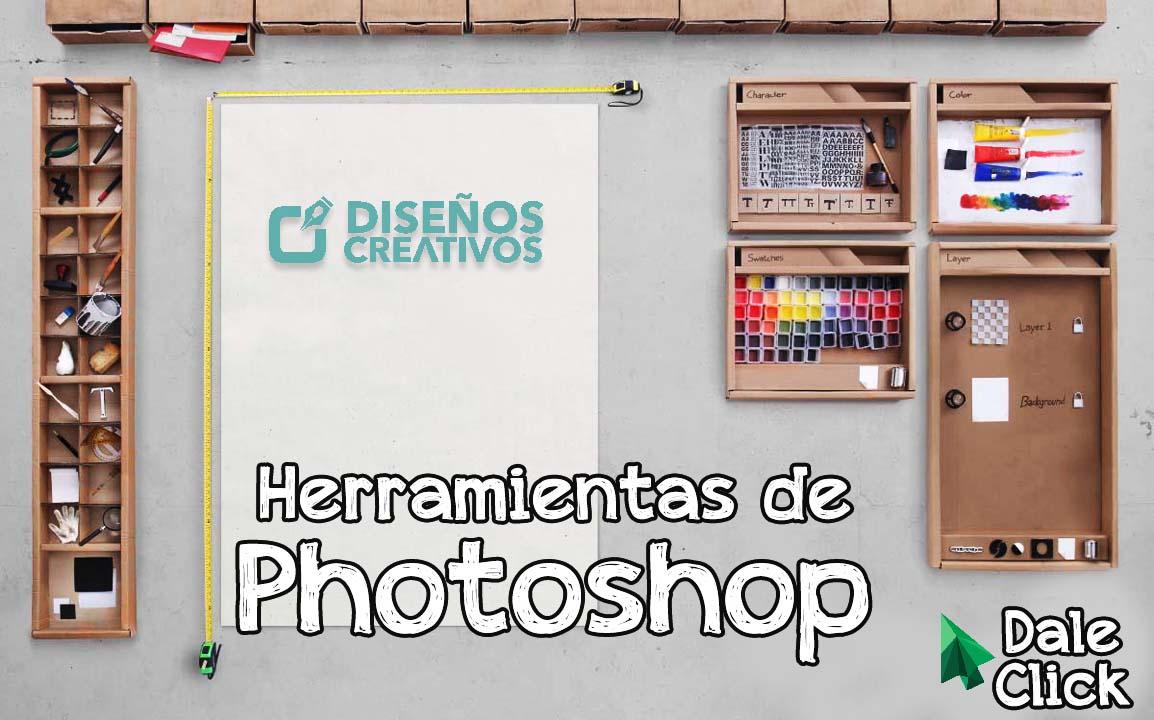herramienta photoshop diseños creativos