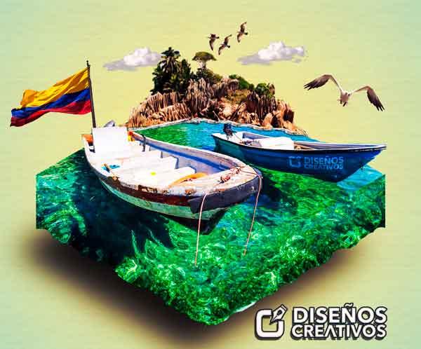 paisaje-3d-isometrico-en-photoshop-1
