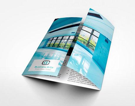 tipos de triptico en ventana diseñoscreativos.com